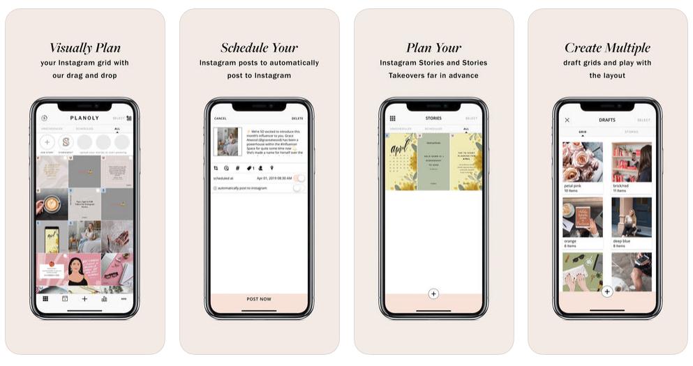 planowanie postow na instagramie aplikacja