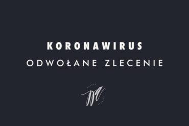 Koronawirus: odwołane zlecenie fotograficzne [Wiemy co z zaliczkami]