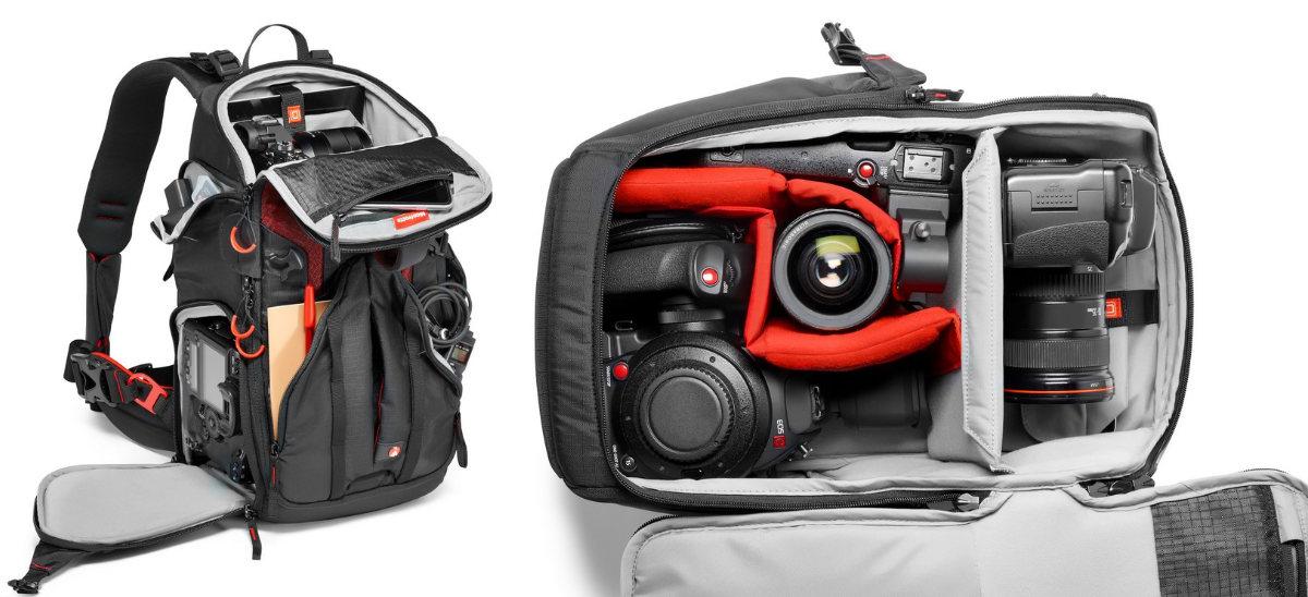 duzy plecak fotograficzny manfrotto
