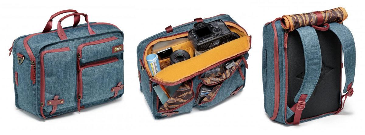 plecak i torba foptograficzna 2 w 1