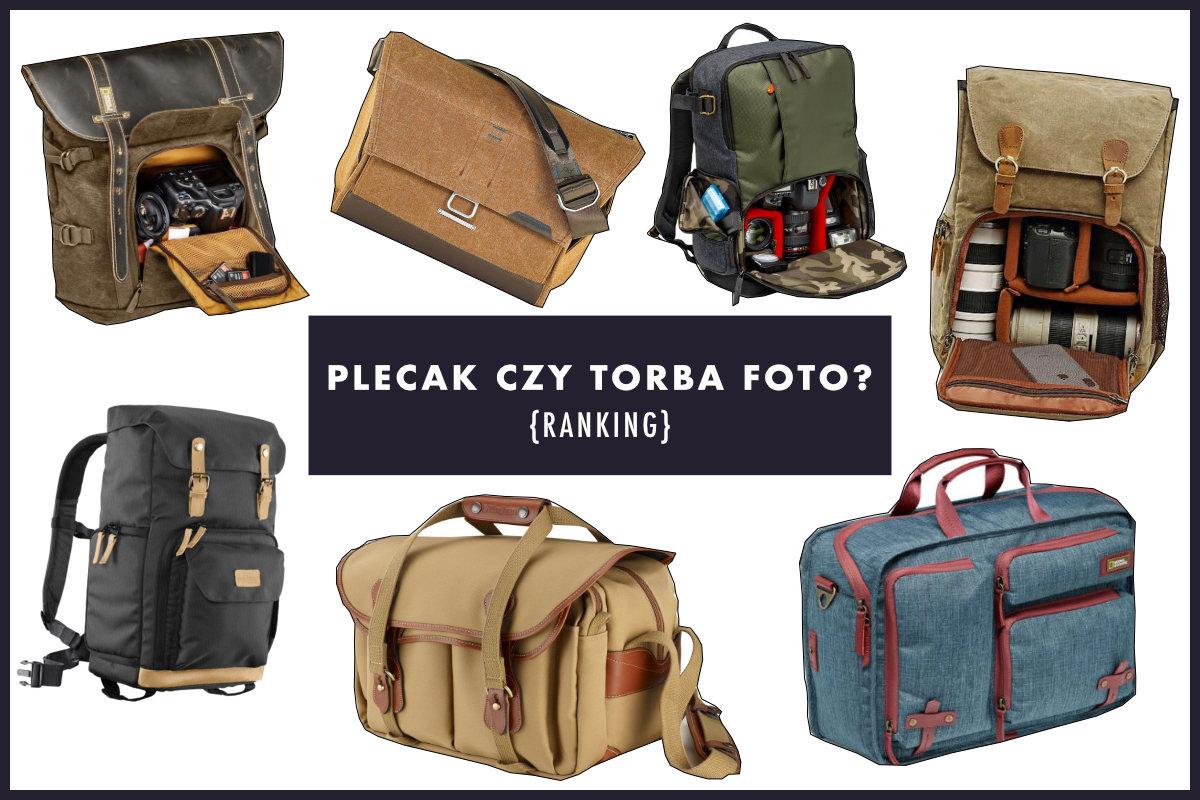 torby i plecaki fortograficzne ranking