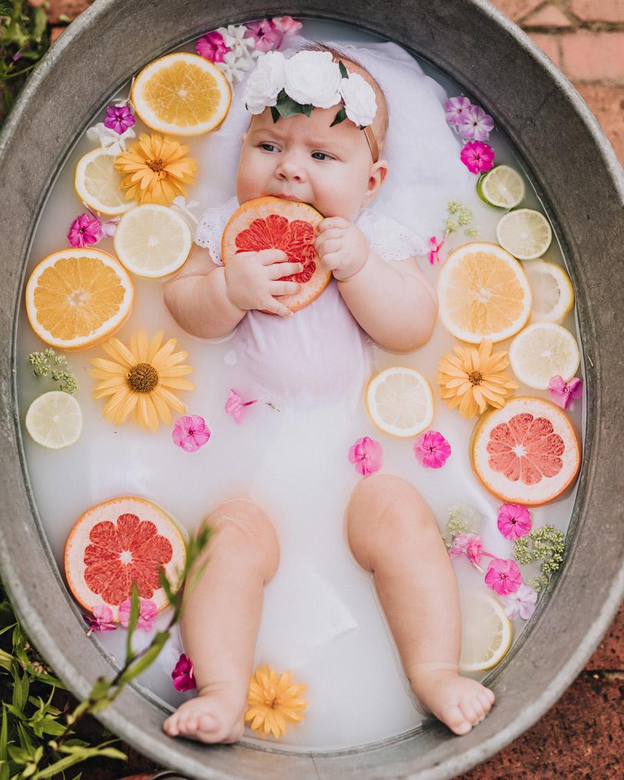 sesja noworodkowa w bance z mlekiem