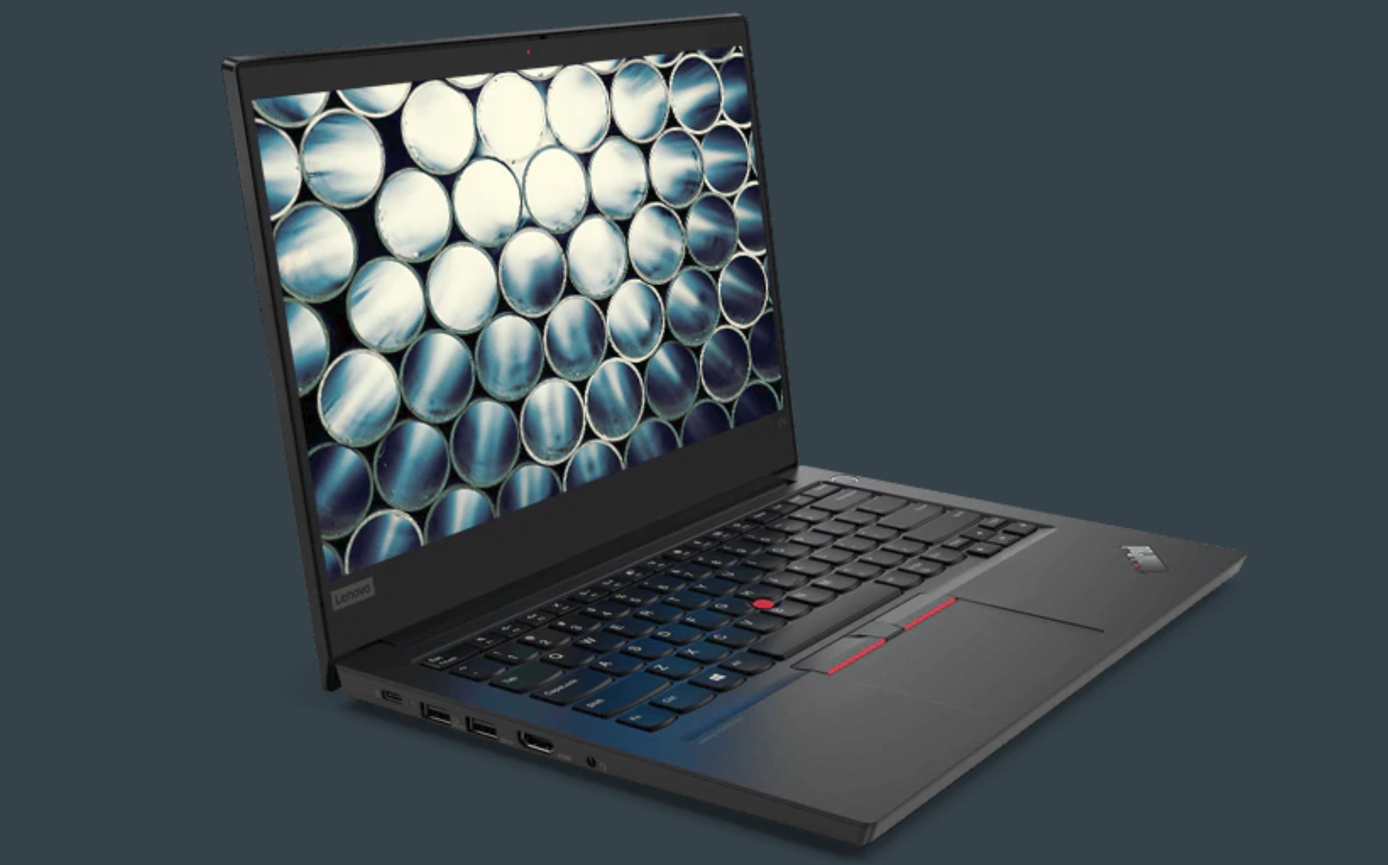 Lenovo ThinkPad E14 laptop do fotografii